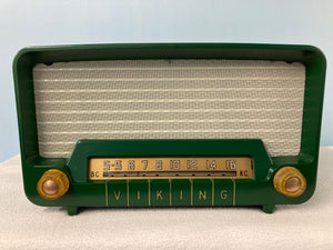 Viking 54-50 Tube Radio With Bluetooth input.