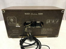 1946 Wards Airline Tube Radio With Bluetooth input.