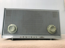 Admiral YG729 Baby Blue Tube Radio With Bluetooth input.