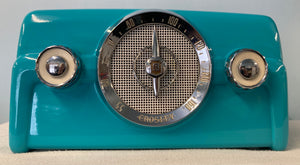 "1950 Crosley 10-135 ""Dashboard"" Tube Radio With Bluetooth input."