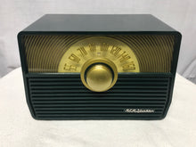 RCA 1-X-53 Sunburst Dial Tube Radio In Forest Green With Bluetooth Input.