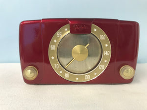 Arvin 451T Tube Radio With Bluetooth input.