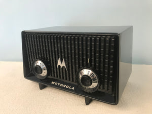 Motorola MK-56R Tube Radio With Bluetooth input.