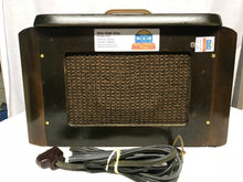 1937 General Electric E-50 Tube Radio With Bluetooth input.