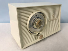 1957 General Electric 876 Tube Radio With Bluetooth input.