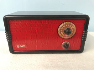 "Marconi 235 ""The Mighty Atom"" Tube Radio With Bluetooth input."