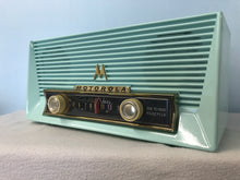 Motorola 67X Tube Radio With Bluetooth input.
