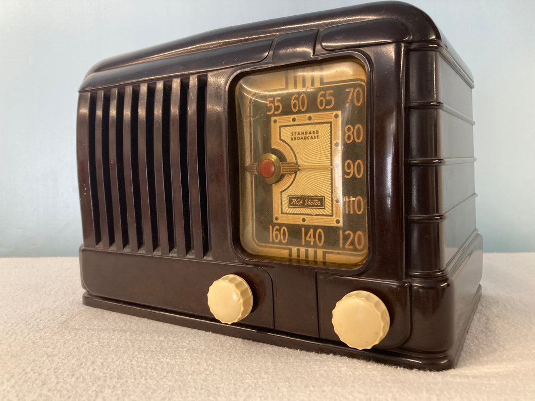 1940 RCA Master Nipper Tube Radio With Bluetooth & FM Options