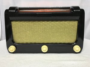 "Northern Electric 6302 ""Topper"" Tube Radio With Bluetooth input."
