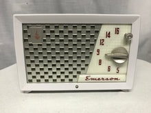 Emerson 729 Series B Tube Radio With Bluetooth input.