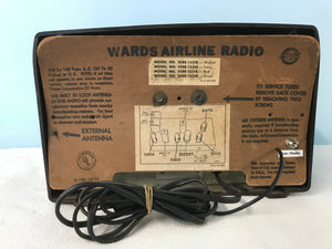 Airline 04BR-1525B Tube Radio With Bluetooth input.