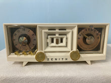 Zenith R-519-W Tube Radio With Bluetooth input.