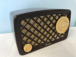Serenader Midget Tube Radio With Bluetooth input.