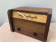General Electric C-544 Tube Radio With Bluetooth input.