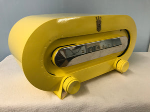 "Zenith ""Racetrack"" H511  Tube Radio With Bluetooth input."