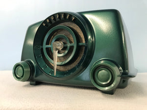 "Crosley 11-102U ""Bullseye""  Tube Radio With Bluetooth input."