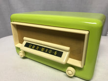 "Northern Electric Model 5400 ""Baby Champ"" Tube Radio With Bluetooth input."