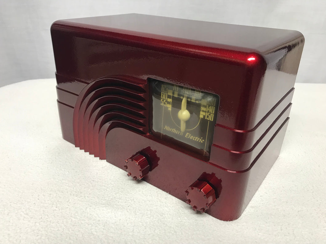 "Norther Electric Model 5000 ""Rainbow"" Tube Radio With Bluetooth input."