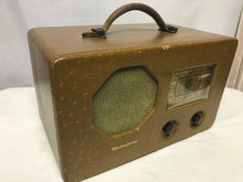 Westinghouse Portable Battery Tube Radio With Bluetooth input.