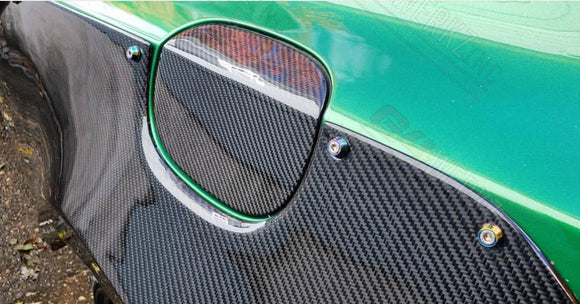 Genesis Coupe Carbon Fiber Gas Door