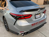 2018+Toyota Camry TRD Style Rear Diffuser