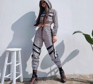 Reflective Two Piece Set - Lavish Outfitters