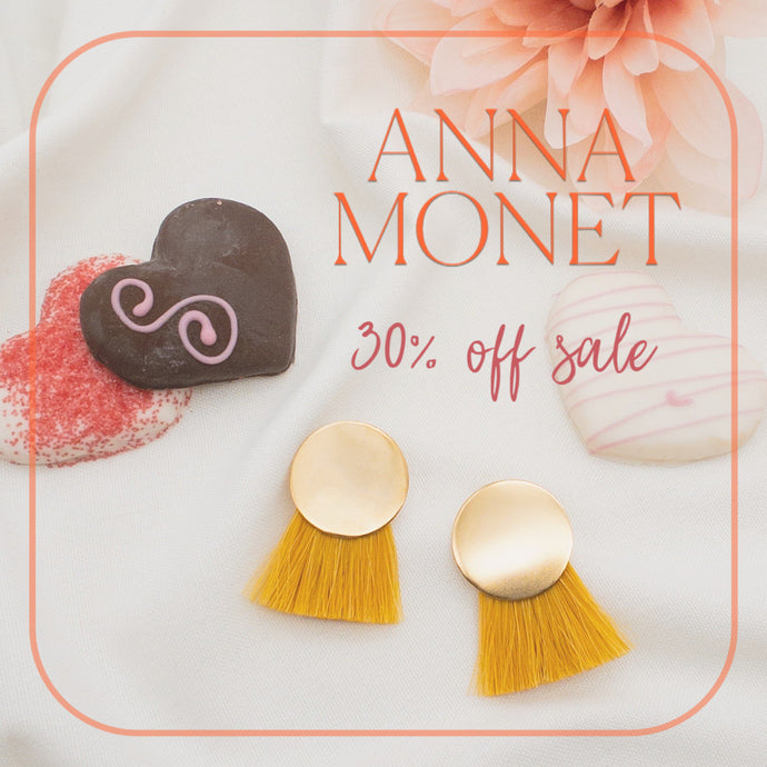 Exclusive 30% Off Sale on Anna Monet