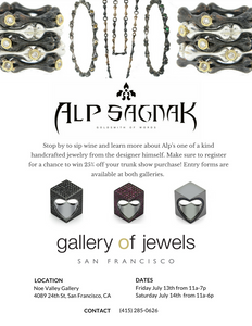 Join Us For The Alp Sagnak Trunk Show