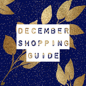 December Shopping Guide