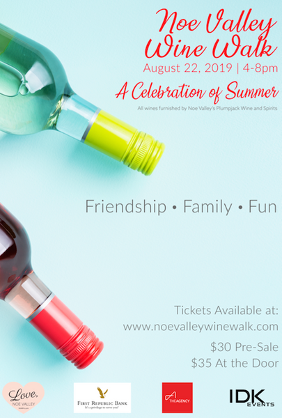 Celebration of Summer! Noe Valley Wine Walk