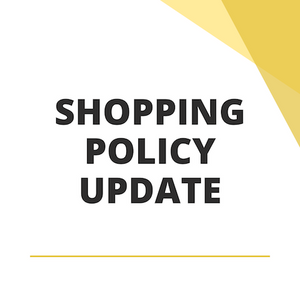 Online Shopping Policy Update