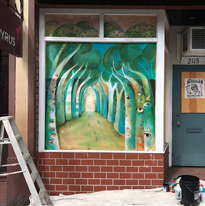 New Pacific Heights Gallery Mural