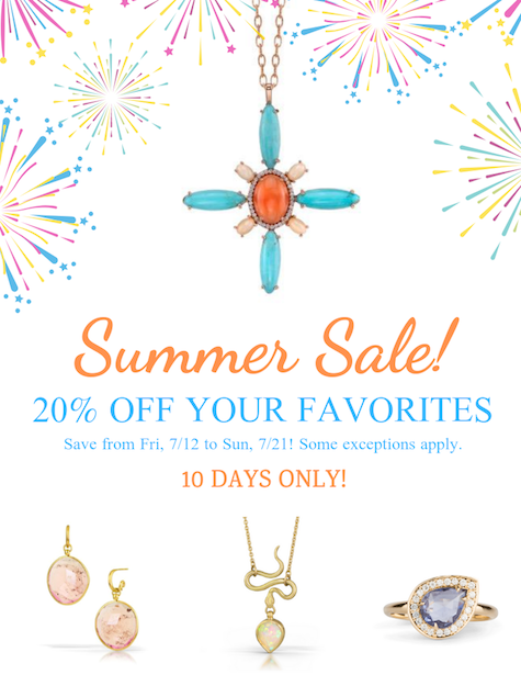 Summer Sale! 20% Off Starts Now