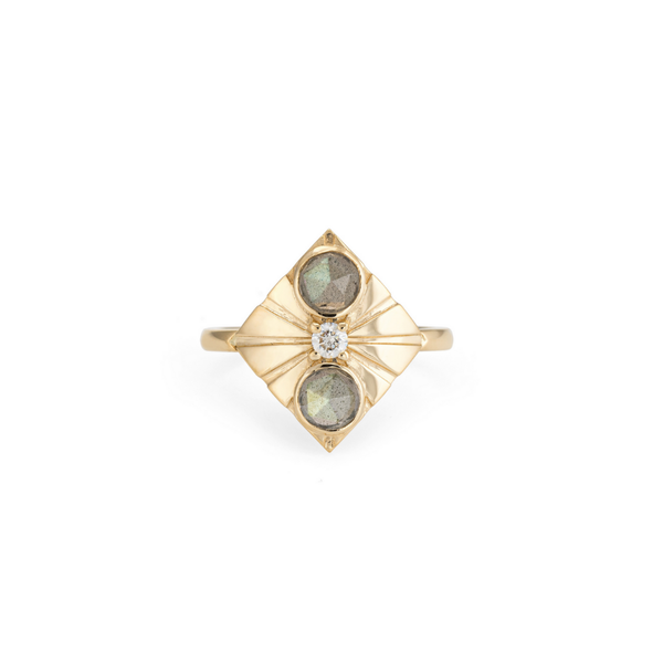 September Sale - 20% off sale - Larisa Laivins - Labradorite Capella Ring - gallery of jewels