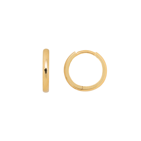 - gallery of jewels - hannah g jewelry collections - Hinge Hoop Earring