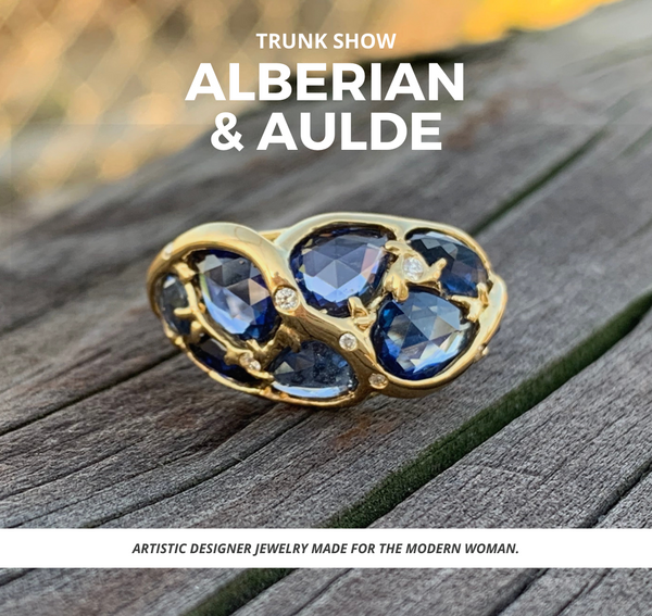 alberian and aulde - alberian and aulde jewelry - alberian and aulde trunk show - alberian and aulde reviews - gallery of jewels - gallery of jewels - san francisco events this weekend