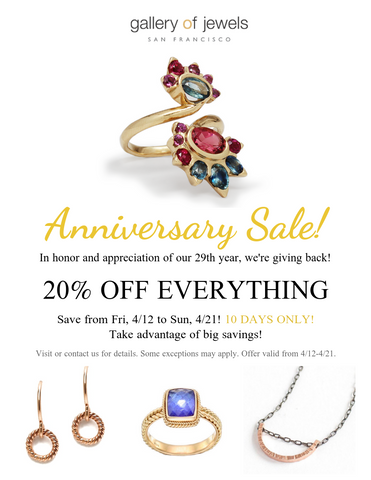 GALLERY OF JEWELS SALE - HAND CRAFTED JEWELRY - BEST DESIGNER JEWELRY
