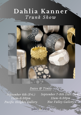 Gallery of Jewels - Trunk Show - Dahlia Kanner - Dahlia Kanner Jewelry - Best jewelry shop in san francisco