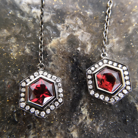 e7219892e Gorgeous Gem of January. Celebrate the new year with a beautiful Garnet ...