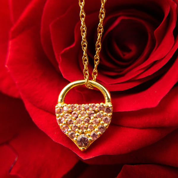 IO Collective - IO Collective jewelry - IO Collective Gold Padlock Necklace - Valentines Day Necklace - Best Valentines Day gift - Top Valentines Day Necklace - Gallery of Jewels best fine jewelry in San Francisco Bay Area