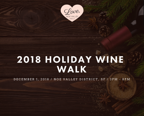 SAN FRANCISCO HOLIDAY EVENTS - GALLERY OF JEWELS - WINE WALK