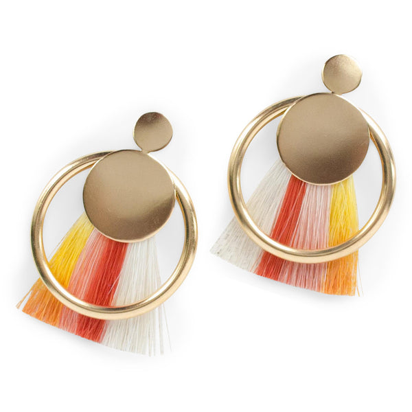 Ana Monet jewelry collection - Diana Color Play Earrings - gallery of jewels