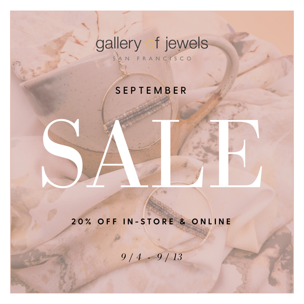 September Sale - 20% off sale - gallery of jewels