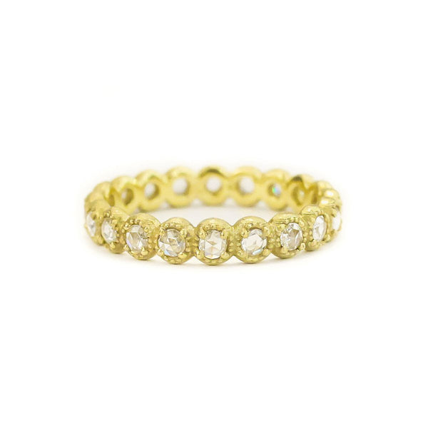 - gallery of jewels - samantha louise jewelry collections - Mini Beaded Bezel Diamond Band