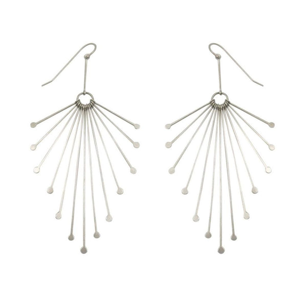 September Sale - 20% off sale - Hilary Finck Fringe Feather Earrings - gallery of jewels