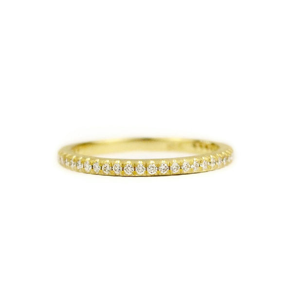 - gallery of jewels - samantha louise jewelry collections - Signature French Cut Band