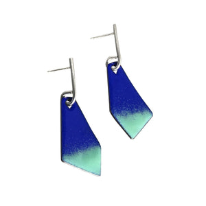 JENNY WINDLER - Enamel Kite Earrings