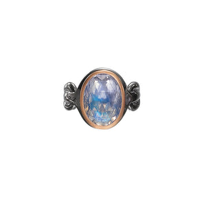 ALBERIAN & AULDE - Moonstone 'Morning Star' Ring