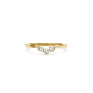 ALTANA MARIE - Half Moon Diamond Curved Band