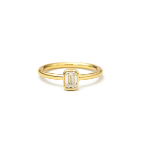 ALTANA MARIE - Emerald Cut Solitaire Ring